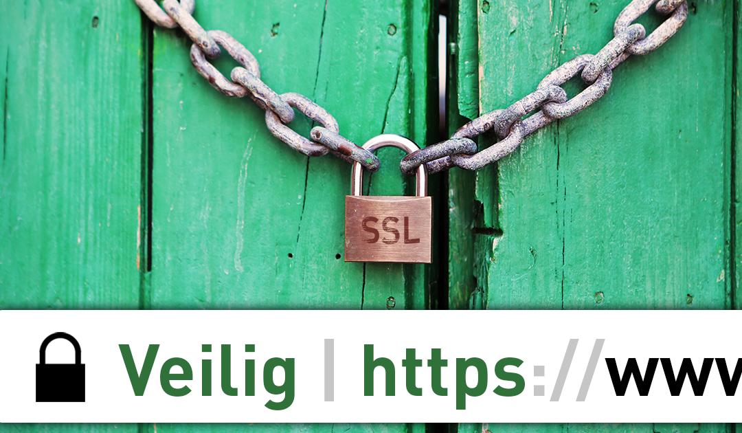 Veilige website met SSL bij https://update-website.nl